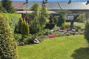 Víťaz v kategórii najkrajšia záhradka.
