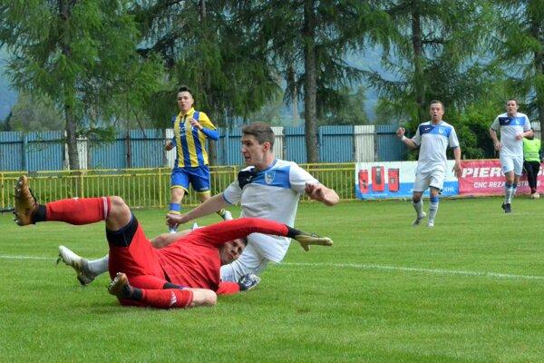 Martin vKalinove nadal gól, ale najmä po zmene strán predviedli jeho hráči solídny výkon.