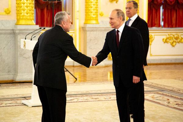 John Sullivan s prezidentom Putinom