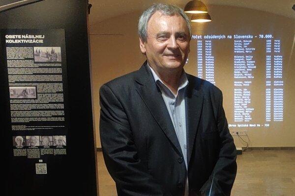 Pavol Hric, iniciátor vzniku Múzea obetí komunizmu v Košiciach.