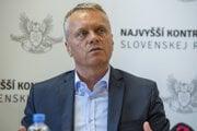 Podpredseda Najvyššieho kontrolného úradu (NKÚ) Ľubomír Andrassy.