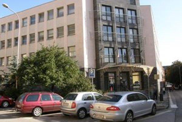 Daňový úrad na Damborského ulici v Nitre.