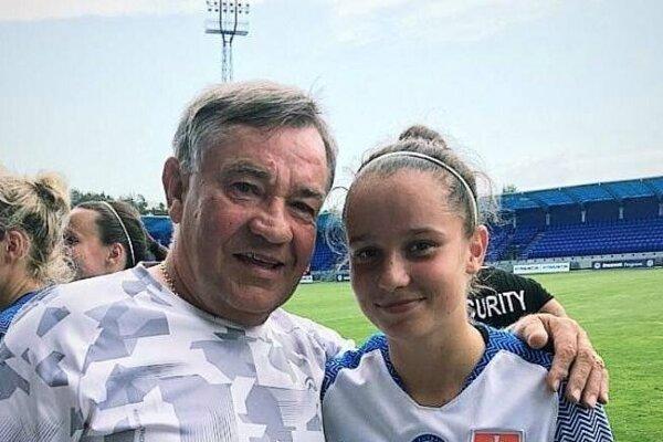 Kristína Panáková s ujom Kamilom.