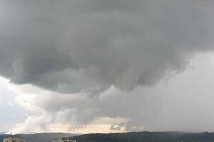 Prešov tesne pred búrkou.