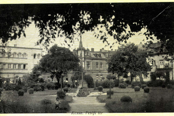 Park na Drevnom trhu.