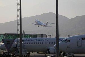 Letisko v Kábule.