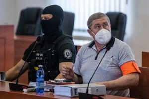 Dušan Kováčik na Špecializovanom trestnom súde v Pezinku.