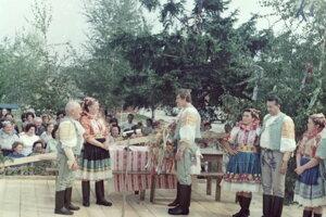Dožinkové slávnosti vroku 1974.