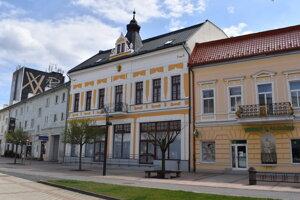 Budova národnej kultúrnej pamiatky Zlatý býk.
