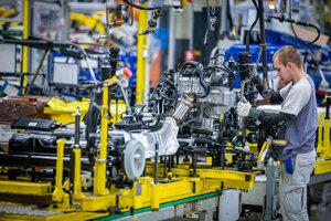 Výroba v závode Volkswagen Slovakia.