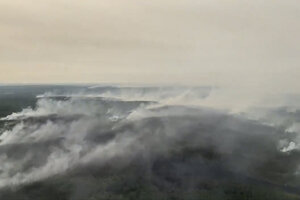 Sibír zasiahli mohutné požiare.