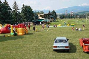 Prvotné oslavy 90. výročia športu v obci Závažná Poruba.