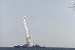 Rusko otestovalo hypersonickú riadenú strelu Zirkon.