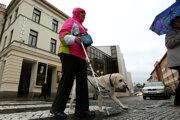 Pohľad do Divadelnej ulice vo Zvolene. Archívne foto.