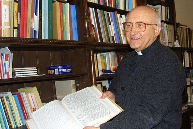 Jubilant, emeritný arcibiskup Tkáč.