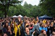 Festivalové publikum doslova hltalo vystúpenie Dana Bártu na tohtoročnom festivale Slovenské alternatívne leto.