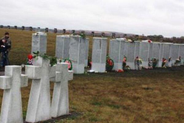 Cintorín nemeckých vojakov Kursk - Besedino.