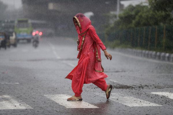 Sezóna monzúnov trvá od júna do septembra.