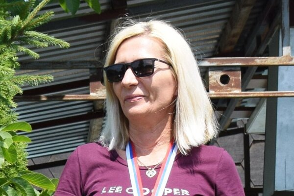 Adriana Nosianová s pohárom pre víťazku