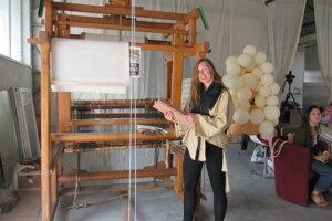 Projekt centra zastrešuje textilná dizajnérka Daniela Danielis.