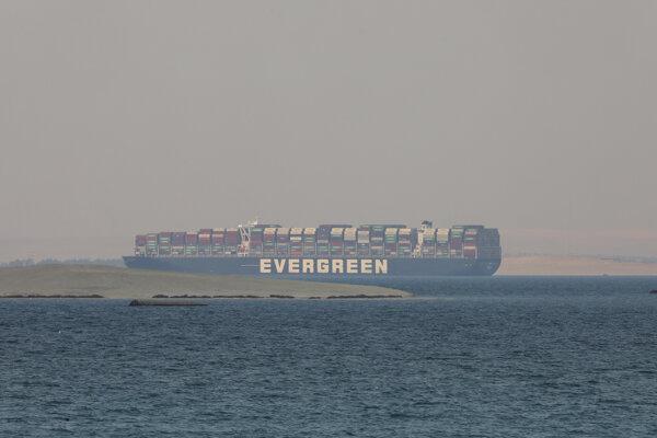 Loď Ever Given vyplávala z Egypta pred tromi týždňami.