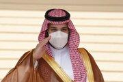 Saudsko-arabský korunný princ  Mohammed bin Salmán.
