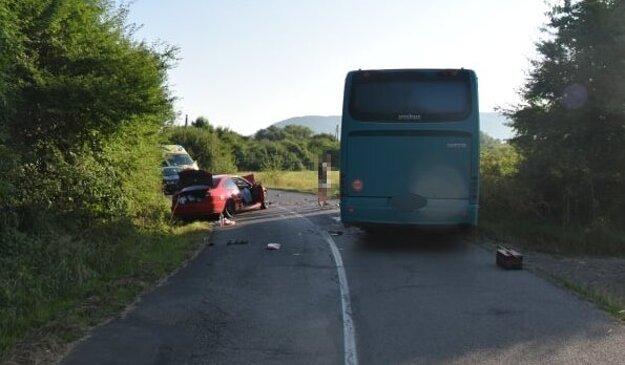 Nehoda sa stala medzi Strážskym a obcou Pusté Čemerné.