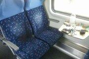 Požiar vo vlaku do Prievidze.