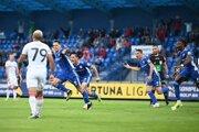 Šimon Šumbera strelil víťazný gól do siete Trnavy.