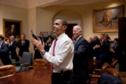 Barack Obama vo filme Obama: In Pursuit of a More Perfect Union