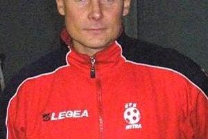 Tréner futbalistov Beladíc Marián Tvrdoň.