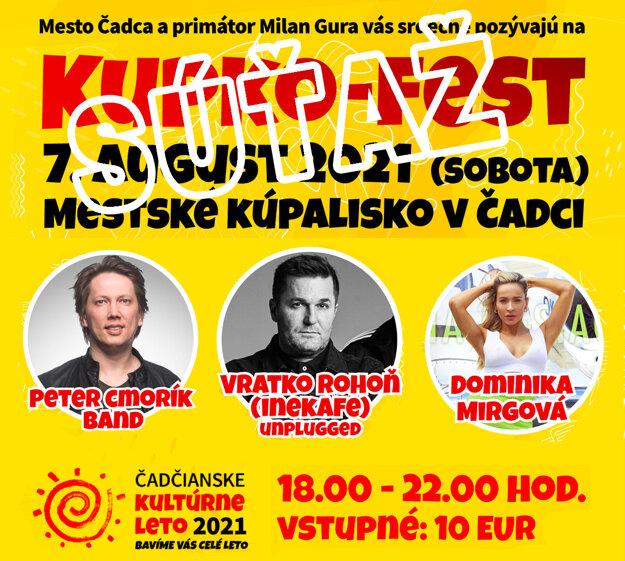 Súťaž KUPKO FEST