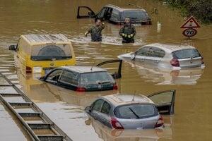 Záplavy, podobné tým tohtoročným v Nemecku, budú v pri ďalšom otepľovaní čoraz častejšie.
