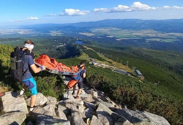 Horskí záchranári v Tatrách pomáhali deťom.
