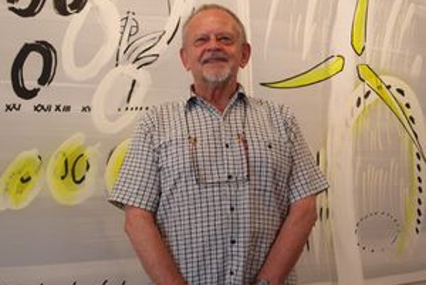 Vladimír Popovič vystavuje v Nitre po prvýkrát.