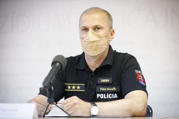 Prezident Policajného zboru Peter Kovařík.