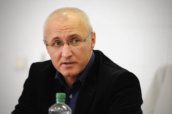 Jozef Tekáč na snímke z roku 2012, keď bol riaditeľom popradskej nemocnice.