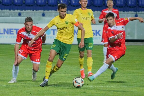 MFK Tatran v červenom otočil zápas proti Žiline vo svoj prospech.