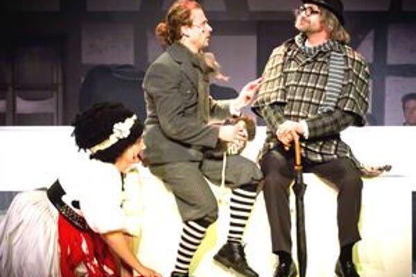 Predstavenia muzikálu Ples upírov môžete exkluzívne vidieť len v Nitre.