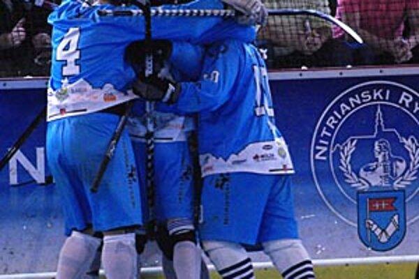 Nitrania vyhrali oba domáce zápasy na úvod finálovej série.