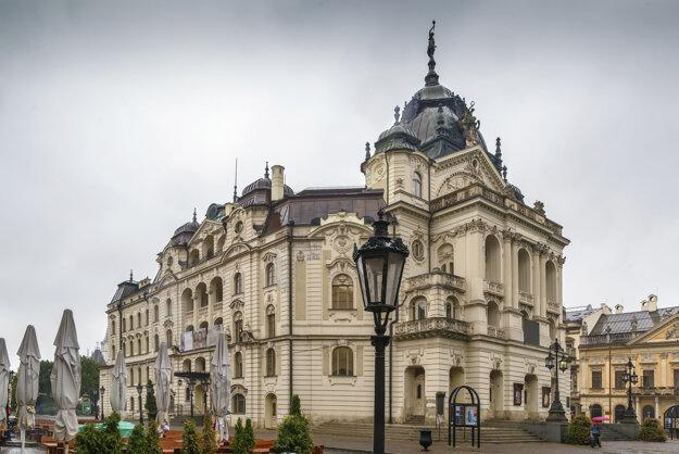 Historická budova Slovenského národného divadla