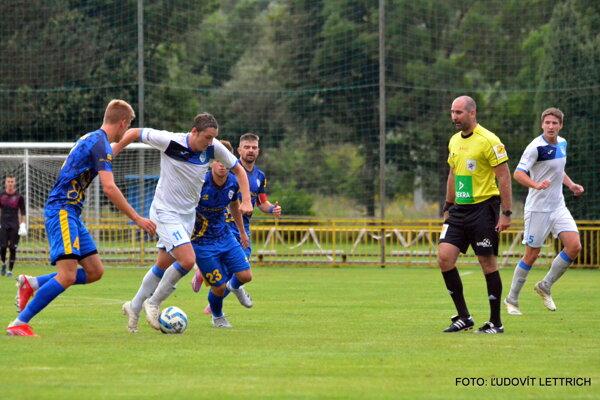 Marko Repáň strelil v Bánovej víťazný gól.