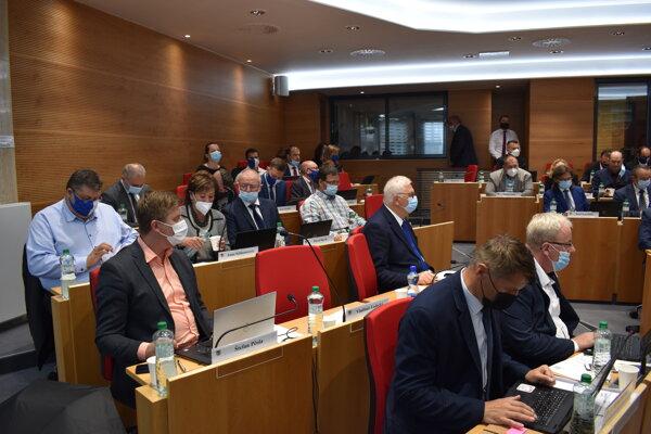Zasadnutie zastupiteľstva Prešovského samosprávneho kraja.