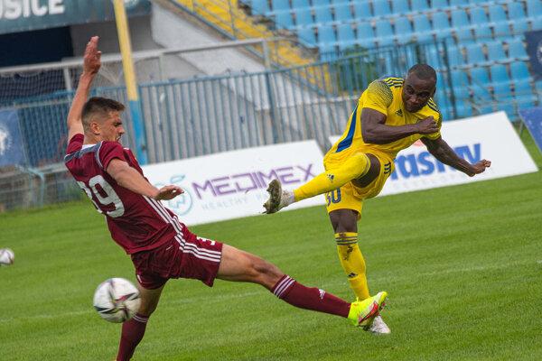 Zo zápasu FC Košice-FK Železiarne Podbrezová