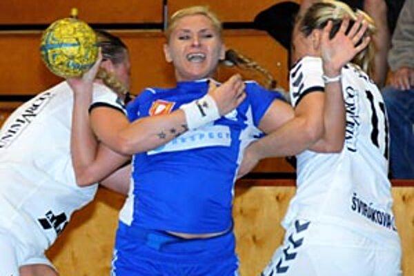 Najlepšou strelkyňou bola so 7 gólmi Simona Szarková.