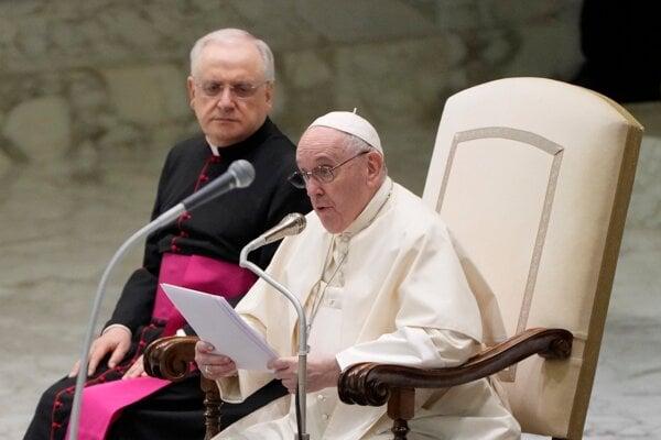 Pápež František je v poradí 266. pápežom rímskokatolíckej cirkvi.