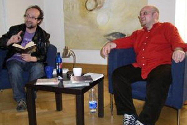Márius Kopcsay a Dado Nagy v roku 2010.
