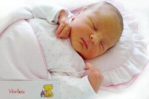 Nina Juračková z Chrenovca-Brusna sa narodila 28. 8. 2021v Bojniciach