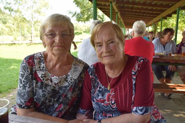Františka Golisová a Štefánia Michalinova