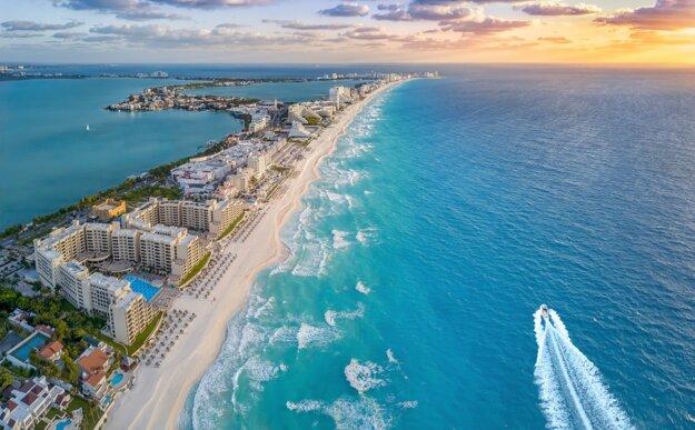 Cancún je jednou z najvyhľadávanejších destinácií v Mexiku